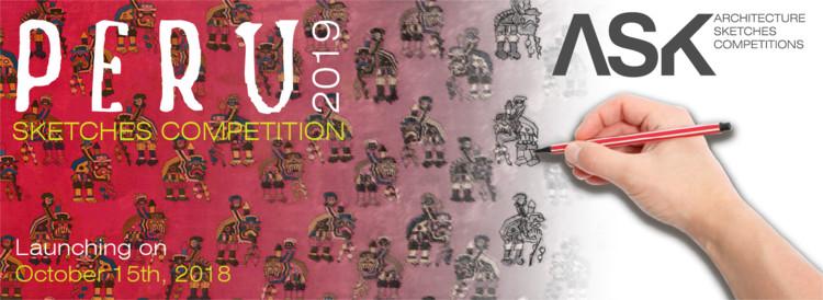 Concurso internacional de bocetos para arquitectos y estudiantes / Sketching Perú 2019, Realizado por la diseñadora gráfica Katty Tay