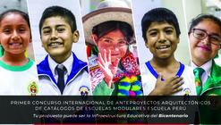 Concurso Internacional 'Escuela Perú' invita a diseñar catálogos de escuelas modulares en cinco zonas bioclimáticas del país