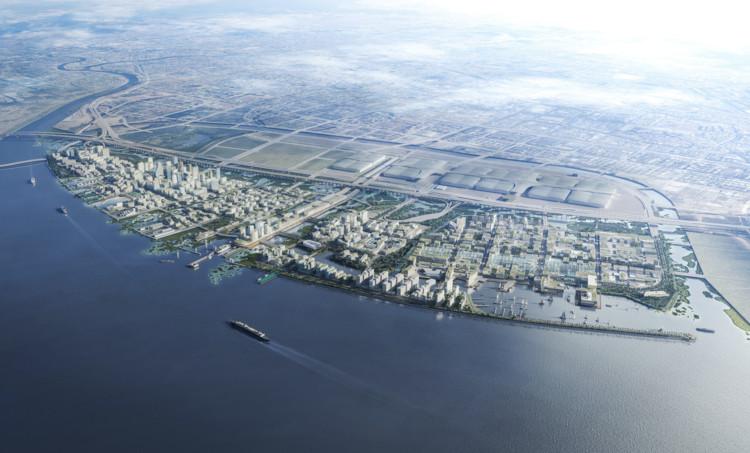 Dennis Frenchman é nomeado vencedor do concurso para a Cidade Marítima de Shenzhen, Cortesia de Dennis Frenchman Urban Design