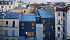 Social Housing in Belleville Street / Atelier du Pont