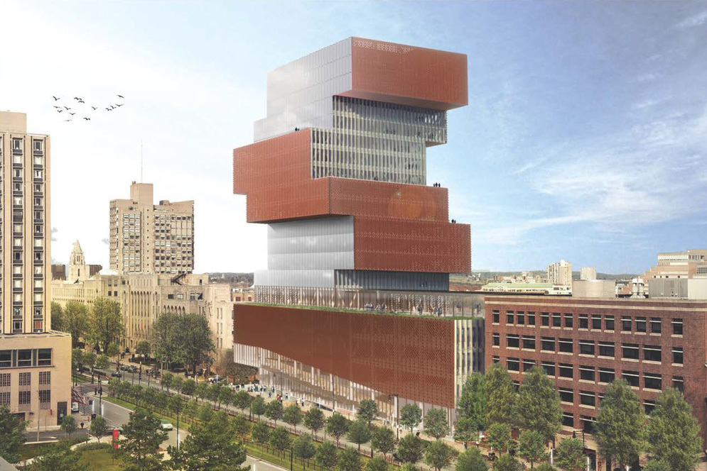 KPMB Architects Designs Stacked Data Sciences Tower for Boston University