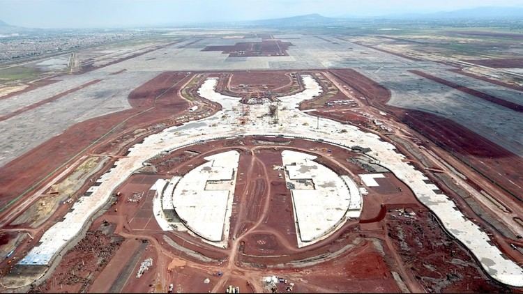 Aeroporto de Foster + Partners e FR-EE na Cidade do México é cancelado após consulta pública, via aeropuerto.gob.mx