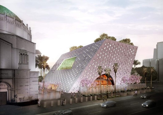 Audrey Irmas Pavilion. Image Courtesy of OMA
