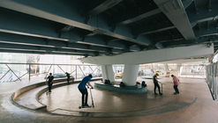 A Skate-spot near the Krymsky overpass / Snohetta + Strelka KB + Strelka Architects