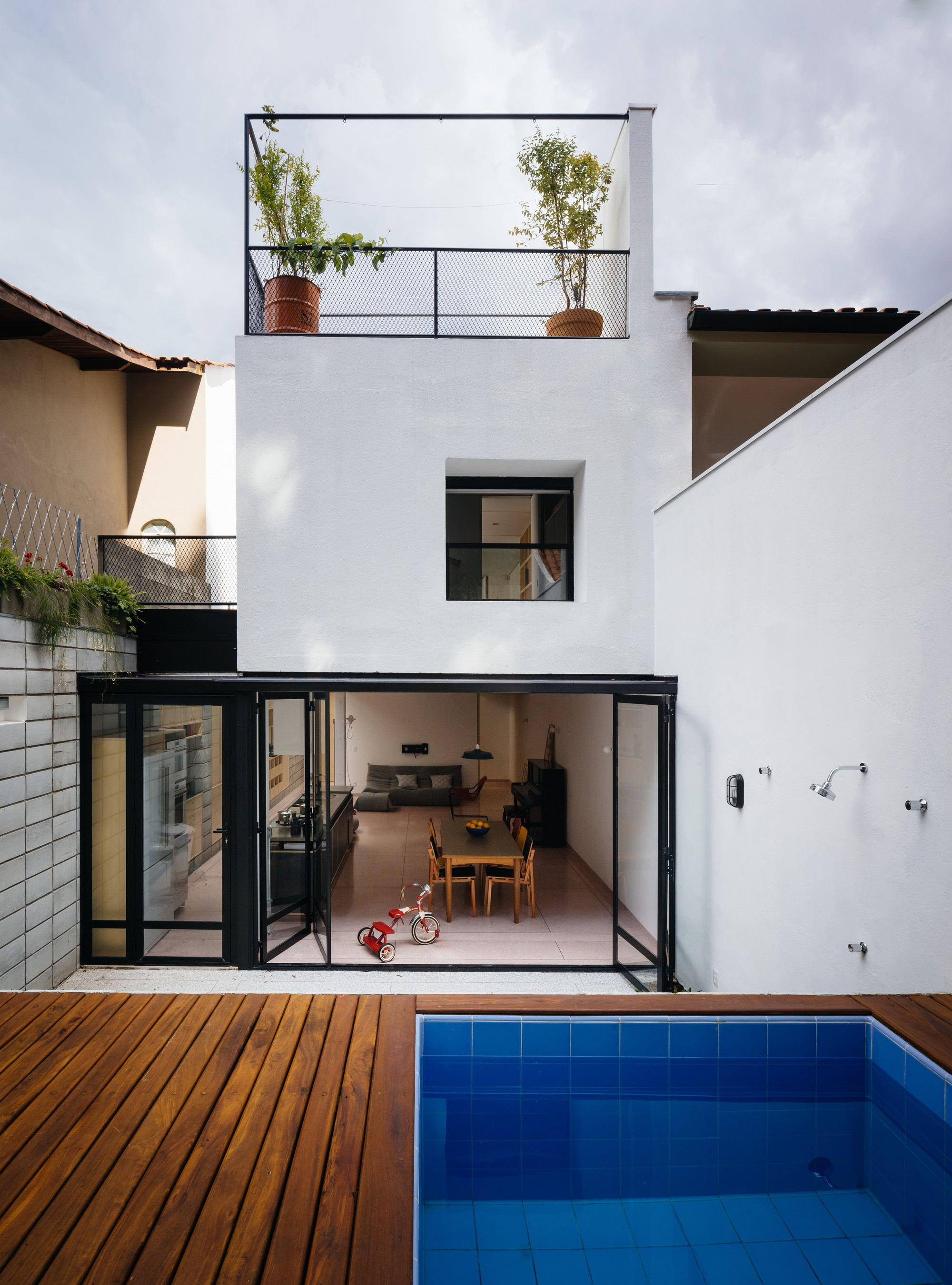 Vila Ipojuca House 23 Sul Archdaily