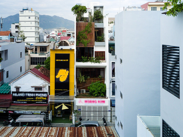 SWhouse_Office and house in Nha Trang / Chon.a , © Quang Tran