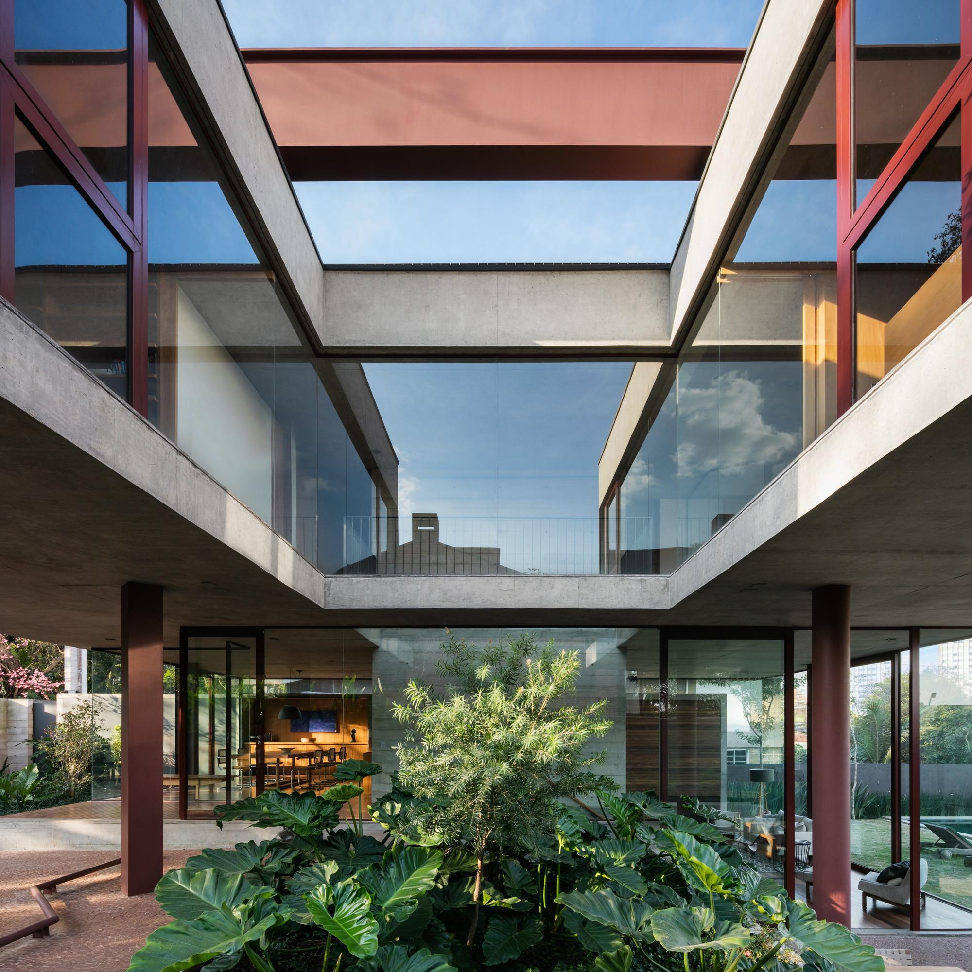 House Villa Lobos Una Arquitetos Archdaily