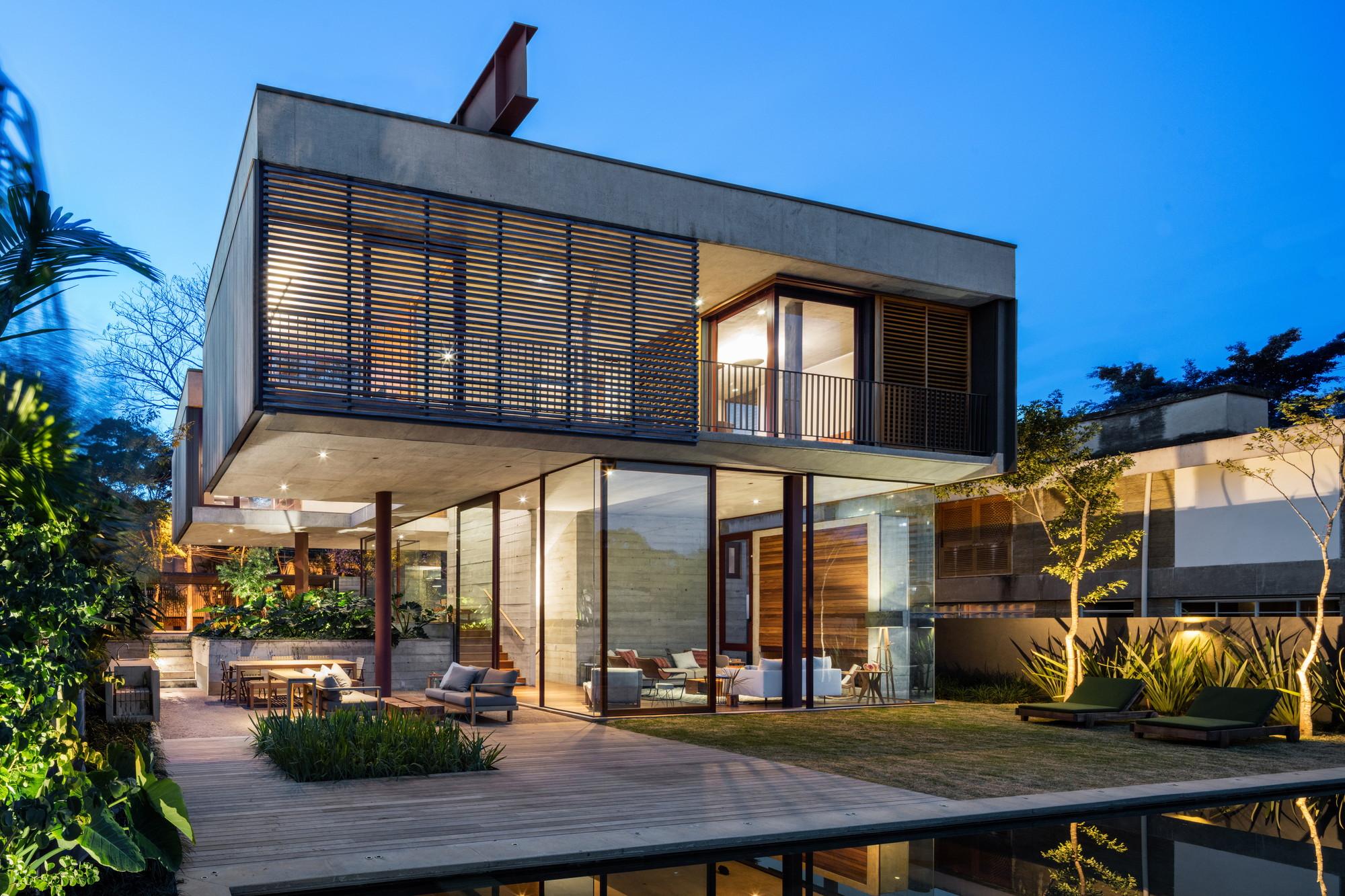 Galeria De Casa Villa Lobos Una Arquitetos 9