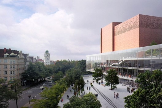 Gasteig Cultural Center. Image Courtesy of MIR