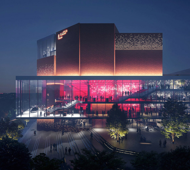 HENN Selected to Redesign Europe's Largest Cultural Center, Gasteig Cultural Center. Image Courtesy of MIR