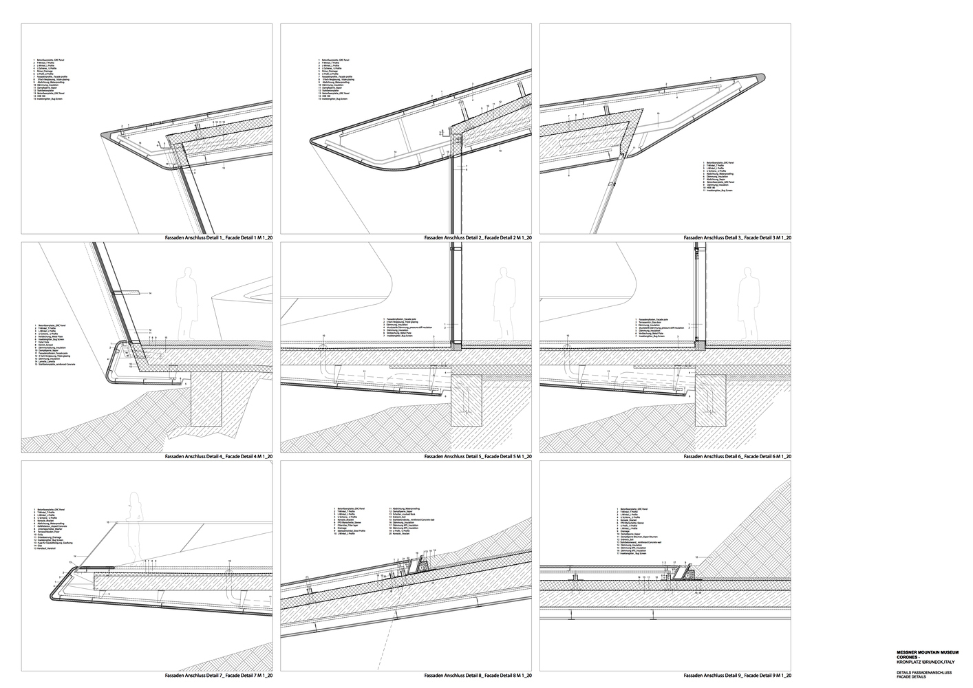 Gallery Of Construction Details Of Zaha Hadid Architects