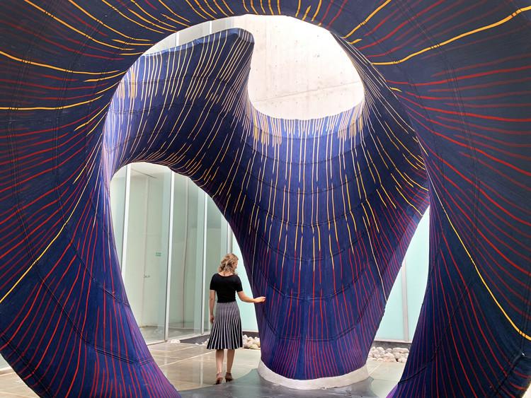 Zaha Hadid Architects presenta en México una pieza inspirada en el trabajo de Félix Candela, © Juan Pablo Allegre
