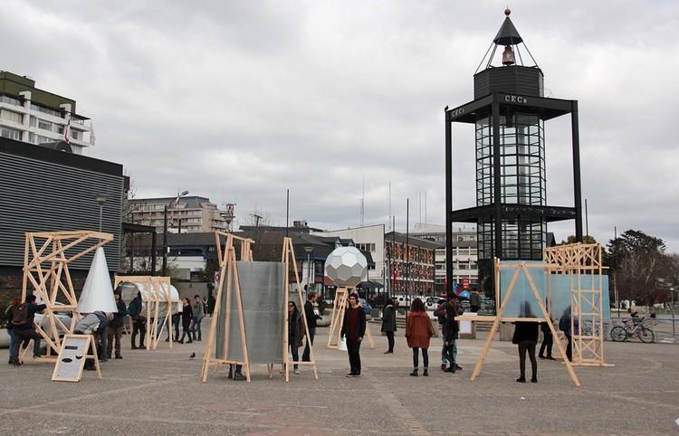 Translações sonoras: a construção de paisagens auditivas na cidade, Intervenção na Praça do Pêndulo de Foucault