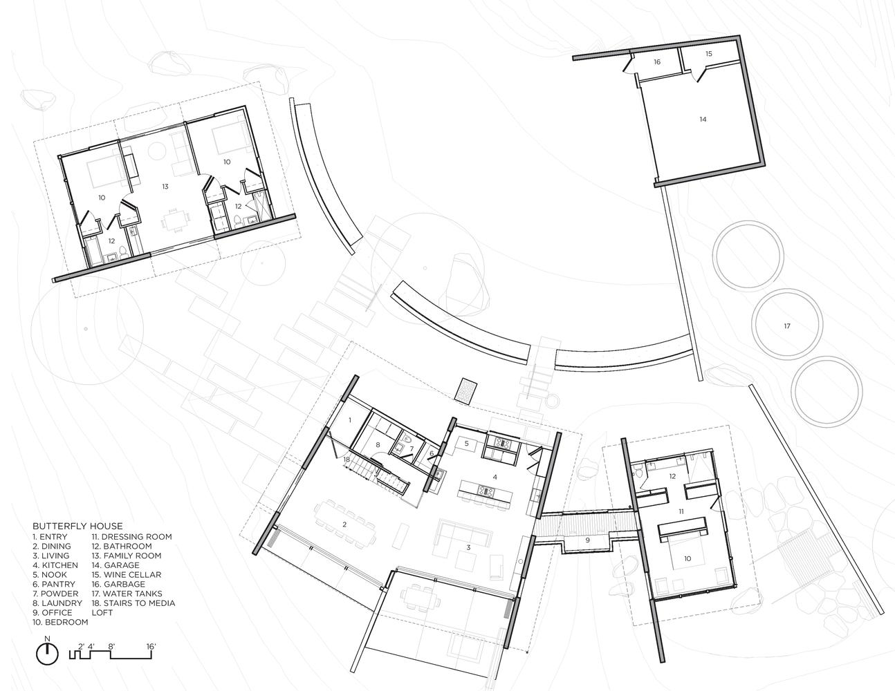 Gallery Of Butterfly House Feldman Architecture 23