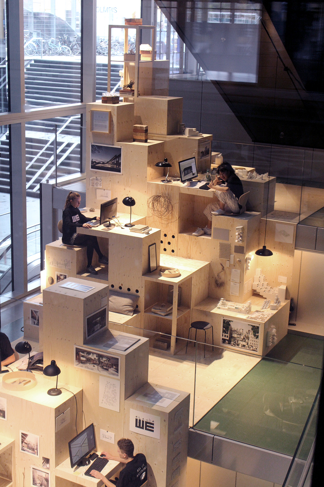 WE Architecture Unveils Pixelated Pop-Up Architecture Office at BLOX Copenhagen,Courtesy of WE Architecture