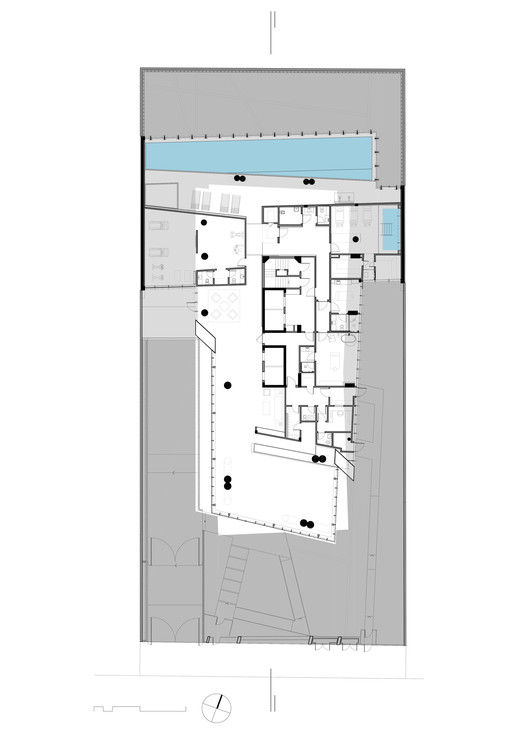 Floor Plan. Image by Daniel Libeskind
