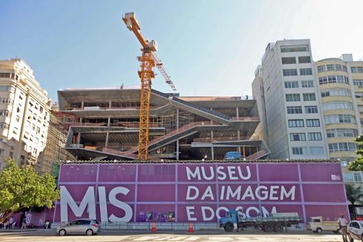 Under construction: MIS Copacabana / Diller Scofidio + Renfro. Image © Marcelo Horn / GOVERJ