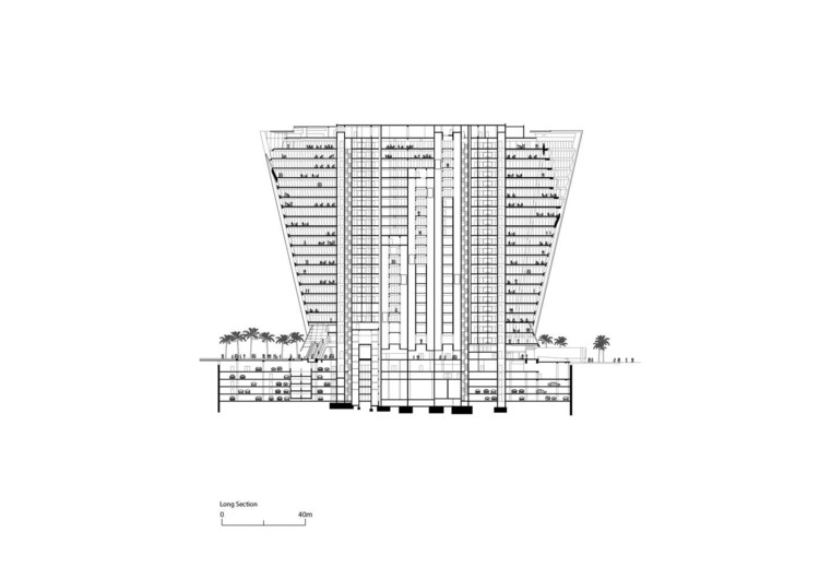 Section. Image by Foster+Partners