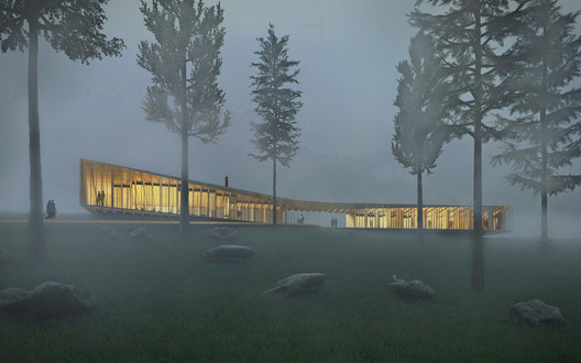 "The Appalachian ""Long Lodge"" Optimizes Mass Timber Construction for Sustainable Design"