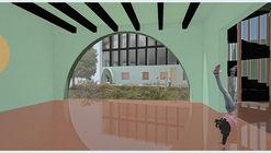 """Projeto de Stefano Corbo Studio transformará uma escola de Praga em uma """"micro-cidade autônoma"""""""