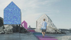 """""""Plastic Island"""" Imagines the Possibilities of Reusing Oceanic Waste in Architecture"""