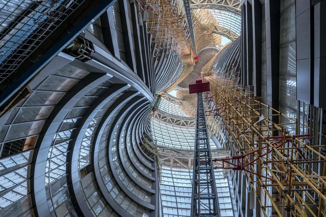 Inside the Extraordinary 190m Atrium (World Tallest) Designed by Zaha Hadid Architects