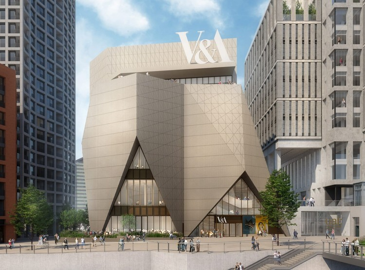 V&A East Revealed with New Designs by Diller Scofidio + Renfro and O'Donnell + Tuomey, V&A East Museum. Image Courtesy of O'Donnell + Tuomey