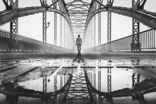 Old Harburg Bridge. Image © Alexander Schönberg (DE), Remarkable Award