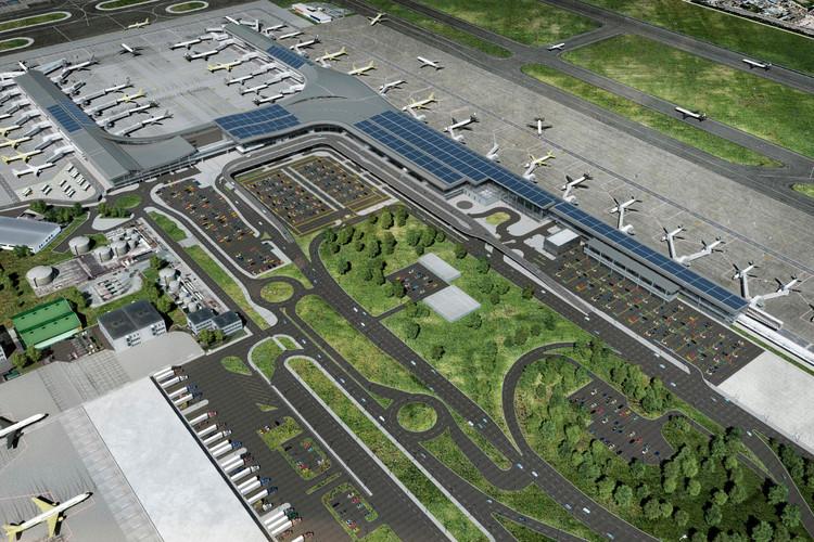 Aeropuerto de Bogotá contará con el sistema de paneles solares más grande de Latinoamérica, vía Aeropuerto El Dorado