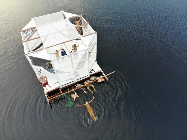 Arquitetura Flutuante na Amazônia: Folies Tropicales, Cortesia de Architectural Association Visiting School Amazon