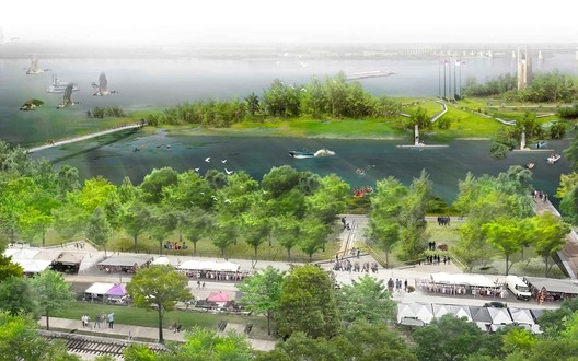 Courtesy of Studio Gang's 2017 Riverfront Concept
