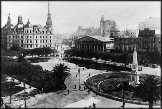 Buenos Aires 1920 . Image vía Desconocido [Wikipedia]Licencia bajo dominio público