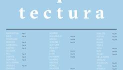 Lanzamiento del libro ''Anales de Arquitectura 2017-2018''
