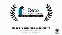 II edición del concurso de arquitectura Reto Kömmerling