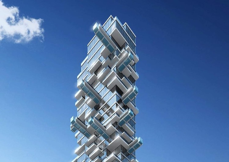 Arquitectonica designs skyscrapers in Los Angeles, 5th and Hill Tower