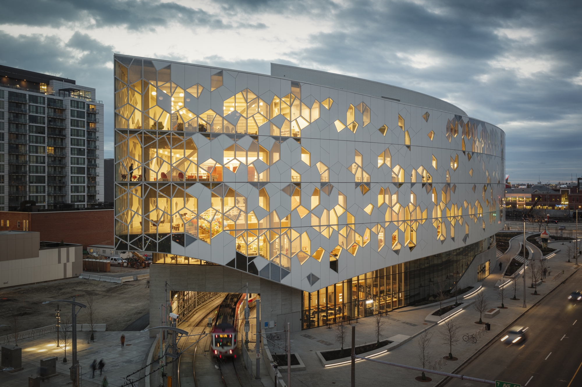 Biblioteca Central de Calgary / Snøhetta