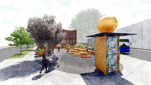 Hartford Architecture Students Win Urban Sustainability Competition Through ?Live, Work, Play? Park Design