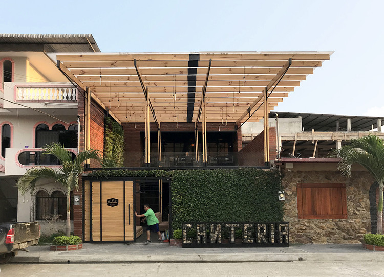 Canteria restaurante urbano / Natura Futura Arquitectura, © natura futura