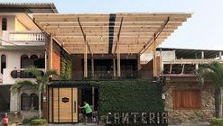 Canteria restaurante urbano / Natura Futura Arquitectura