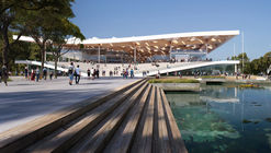 3XN Unveils Sloping Design for Sydney Fish Market