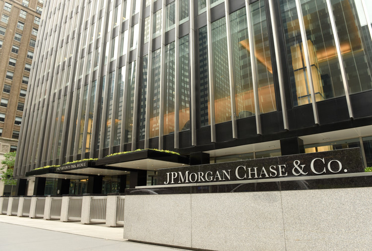 Foster + Partners Chosen to Design JP Morgan Chase Headquarters in New York City, The existing headquarters of JP Morgan Chase. Image © Shutterstock