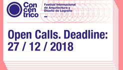 Open Calls: Concéntrico 05, International Architecture and Design Festival. Logroño, Spain