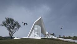 Crane Pavilion at Crane Nature Preserve / GBBN