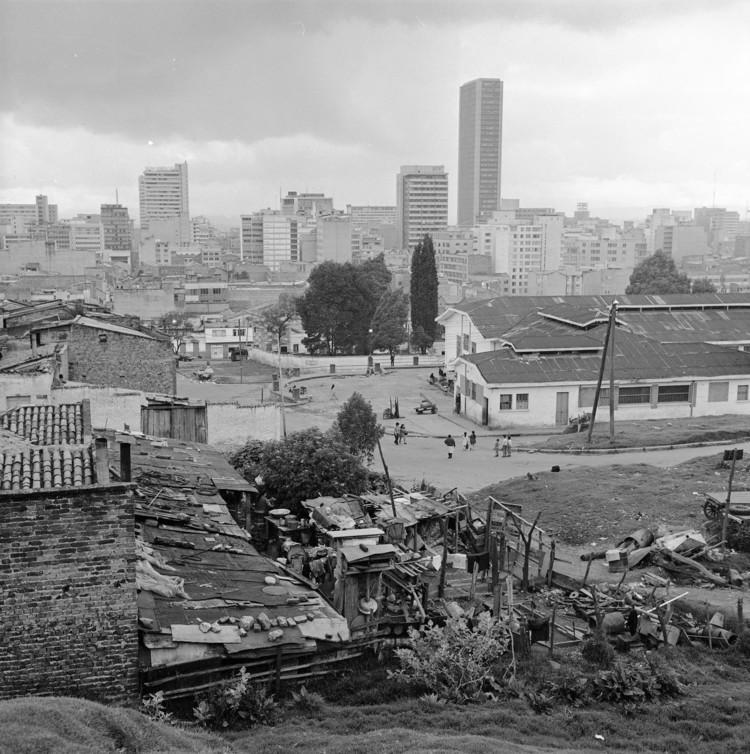 Bogotá, según la fotografía de Daniel Rodríguez, © Museo de Bogotá