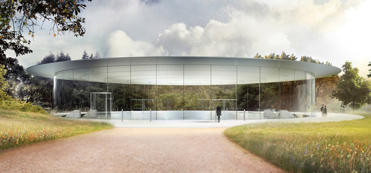 Rendering of the Apple Campus in Palo Alto