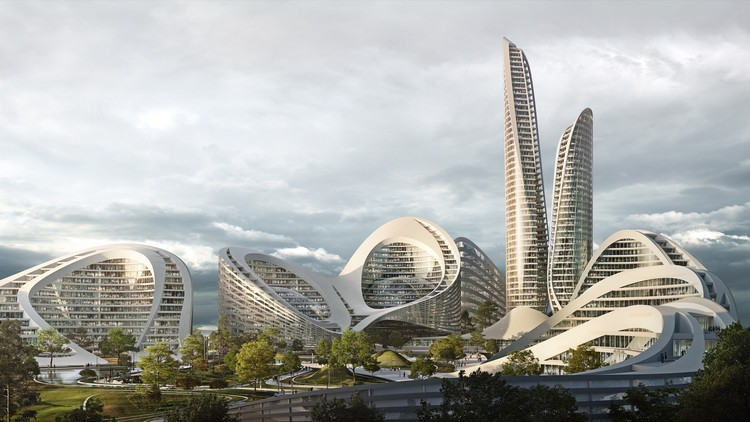 Zaha Hadid Architects Among Firms Chosen for Russian Mega-Smart City, © Flying Architecture