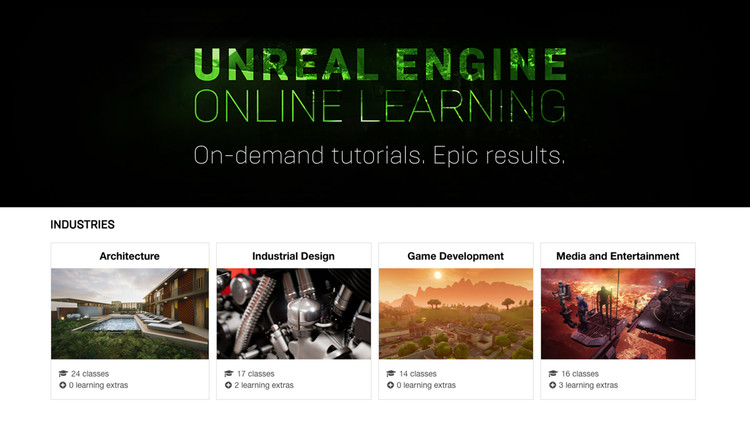 Making Real-Time Rendering Less Daunting: Unreal Engine Online