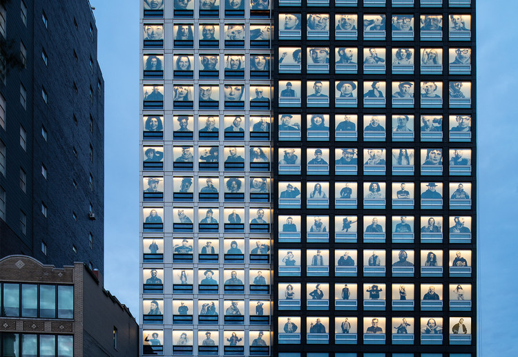 CitizenM Bowery / Concrete + Stephen B. Jacobs Group, © Chris Cooper