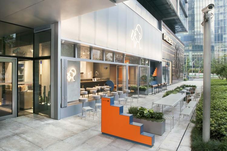 HEYTEA Jing An Kerry Centre / Nota Architects, © Da Jun, Shiyun Qian, Nota Architects