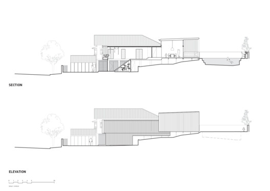 Section + Elevation